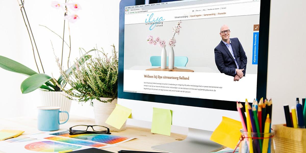 Nieuwe website Ilya Uitvaartzorg Salland