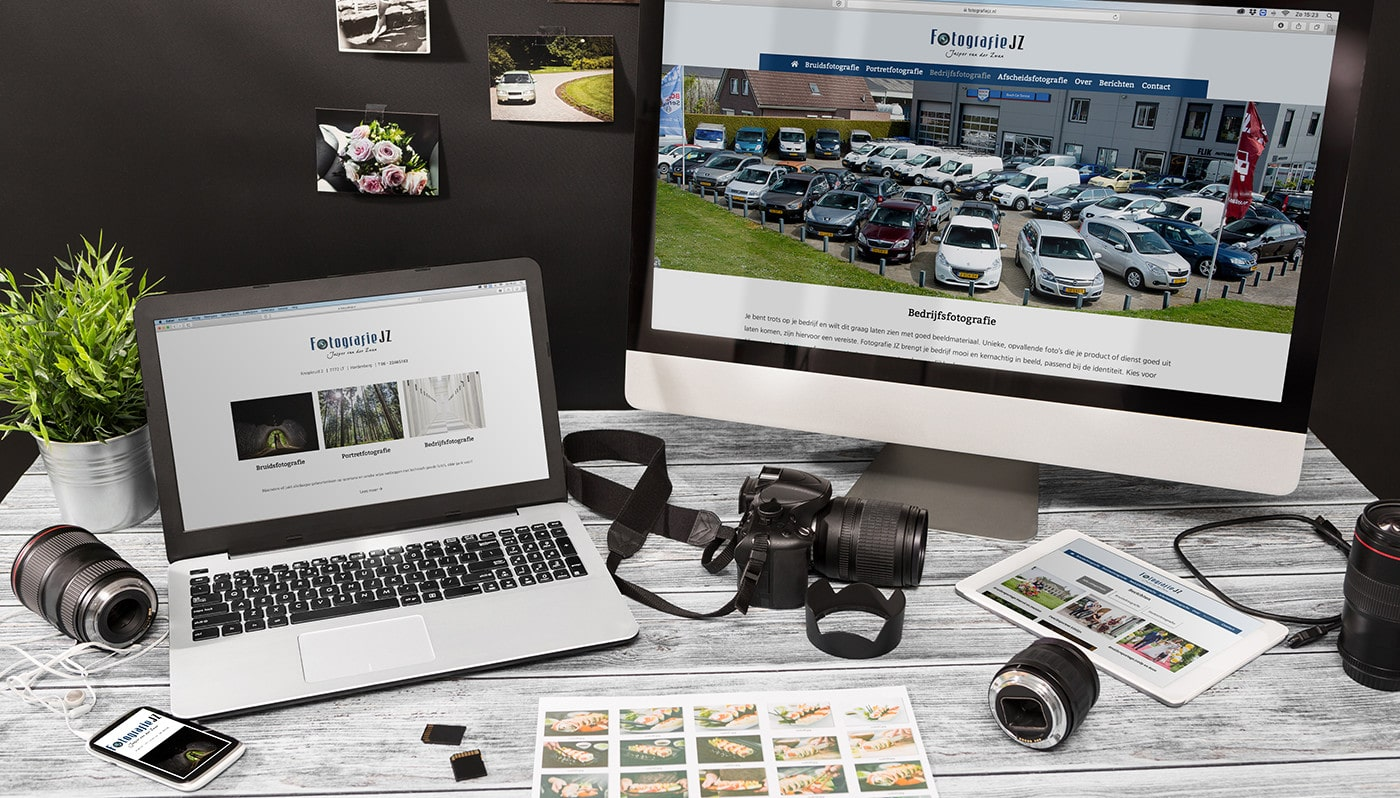 Wordpress website voor Fotografie JZ