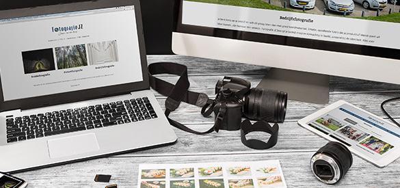 Nieuwe Wordpress website voor Fotografie JZ