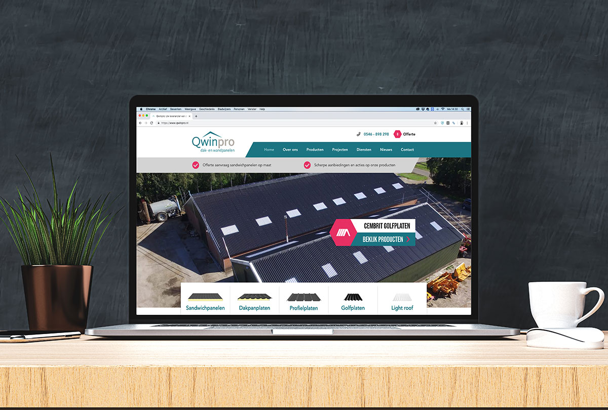 Wordpress website met offerte module