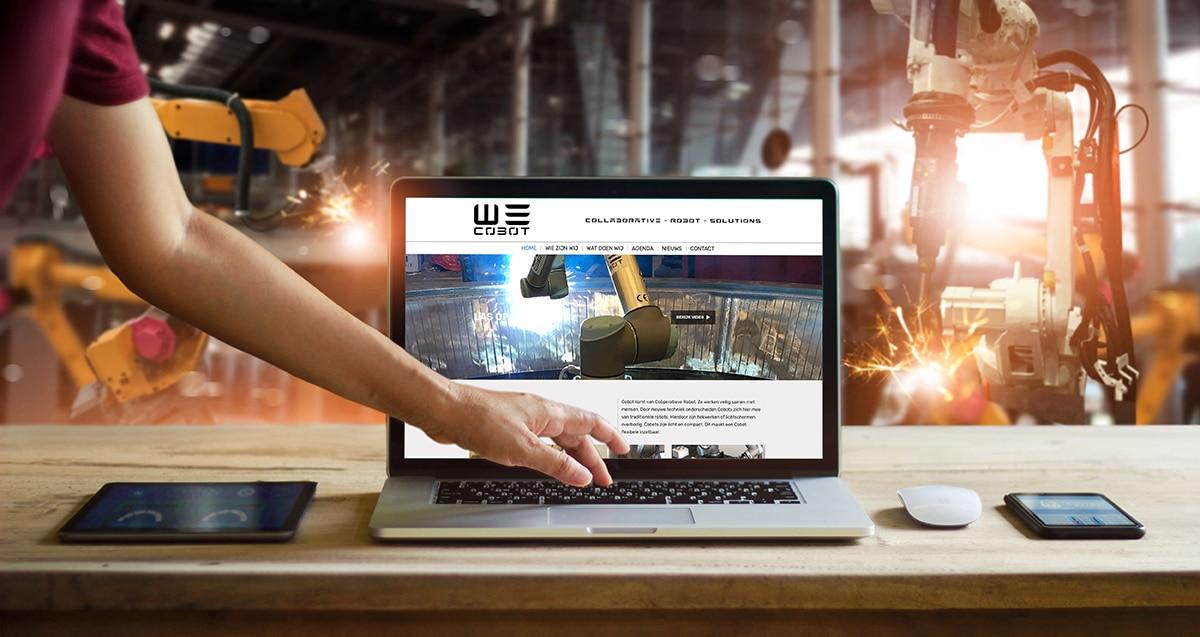 Wordpress website Wecobot online