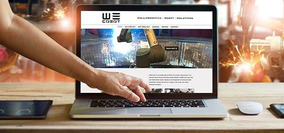 Wecobot website uitgelicht
