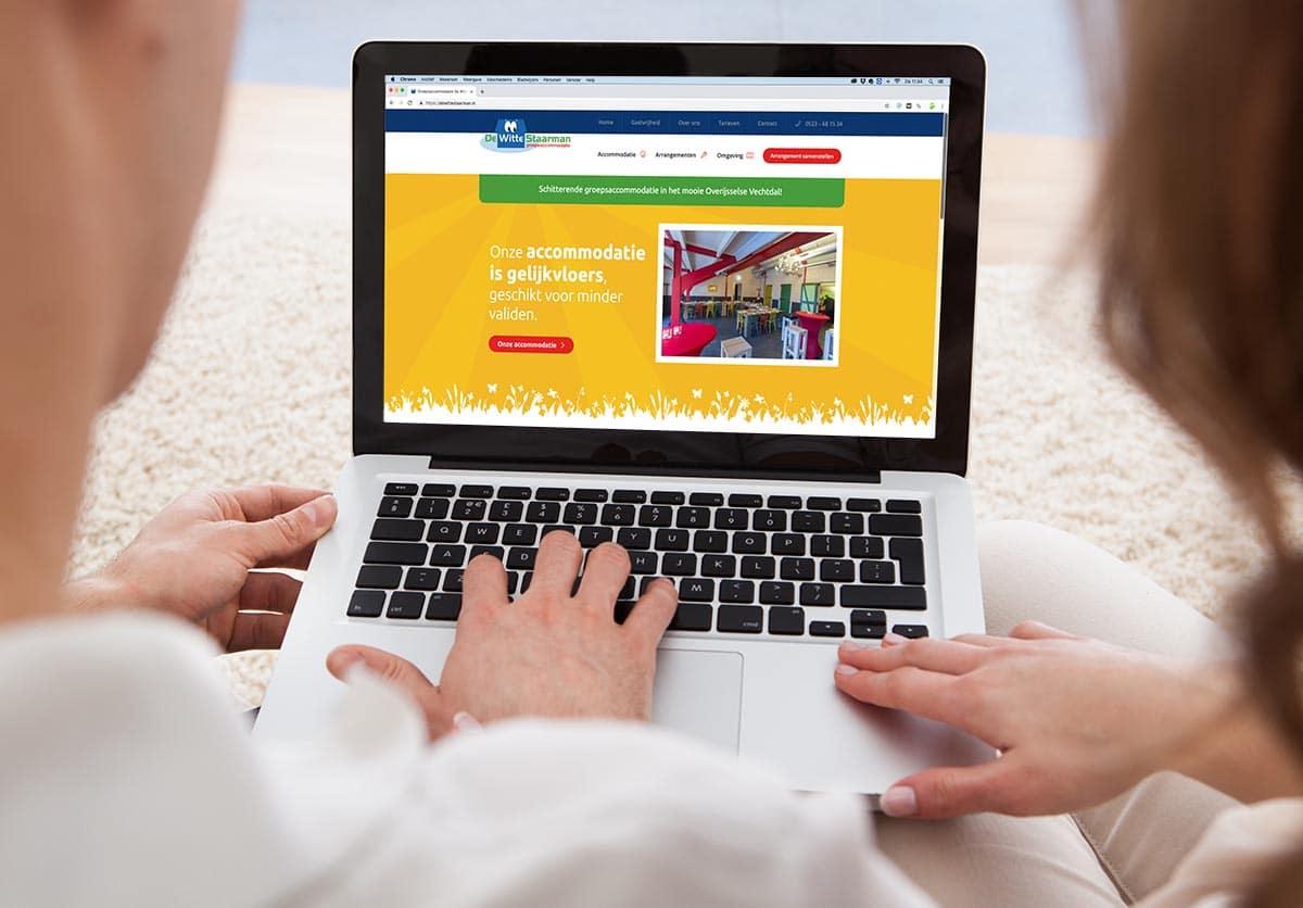 Website De Witte Staarman vernieuwd