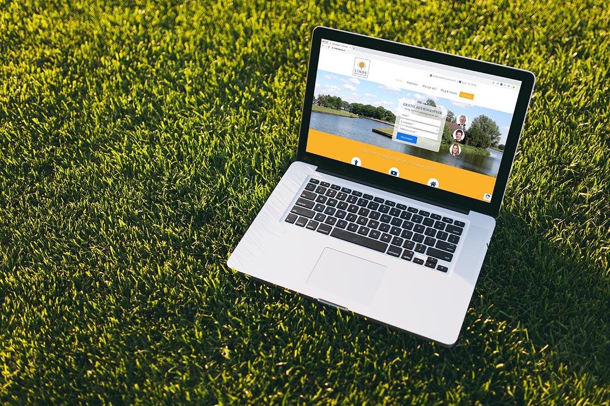 Nieuwe WordPress website voor Linde Mediation