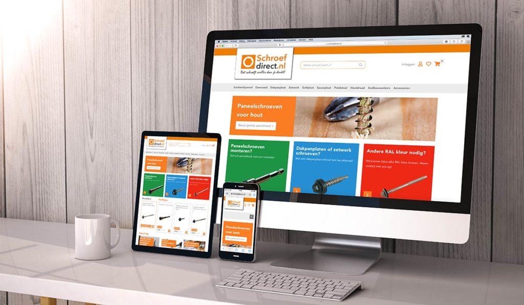 Woocommerce Webshop Schroefdirect.nl
