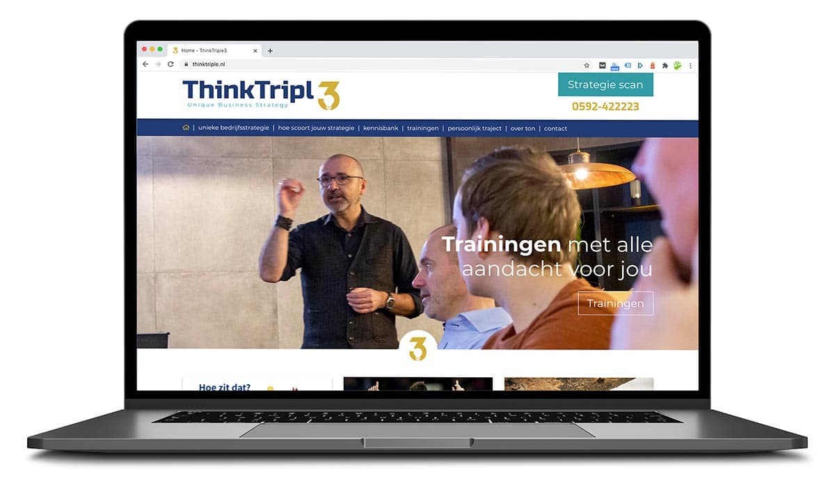 wordpress website thinktriple